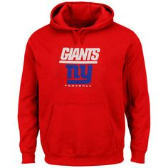 New York Giants Critical Victory Pullover Hoodie - Red