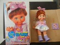 Baby Face Doll SO SHY SHERRI #9 Galoob
