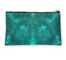 Dioptase Studio Pouch by lightningseeds® for crystalapertures.rocks.