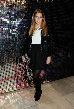 Noblesse & Royautés:  Princess Beatrice attended the Fashion Galore! exhibition at Somerset House, London, November 19, 2013