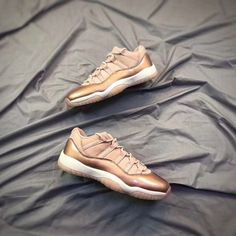 ed5bdcb4f80be4 Air Jordan 11 Low GS Rose Gold Discover More  http   www.