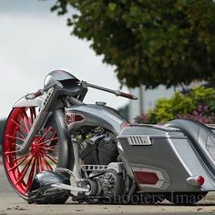 Harley Motorcycle - Custom Harley Davidson Misfit Industries misfit Made Bagger www.misfitmademot...