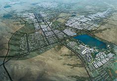 Karamay City Master Plan