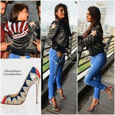Celebrity Style,christian louboutin,zara,Jacqueline Fernandez,Dishoom