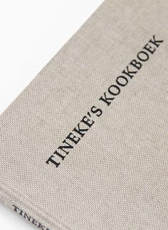 Tineke's Kookboek is here! All the recipes of Joost his grandmother are now compiled in this beautifully hand bound book. Graphic design: Studio Hudson. #design #graphicdesign #studiohudson #book #bookbinding #handmade #bookdesign #type #letterpress #typography #cookbook #food #recipes #dutchcuisine #bitterballen
