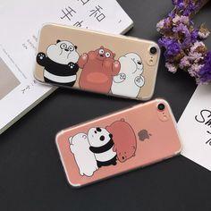 Cute  we bare bears 1.0MM  tpu Case Cover For iphone7 plus/i7/i6 plus/i6+Gift   Celulares y accesorios, Accesorios para teléfonos celulares, Estuches, fundas y cubiertas   eBay!