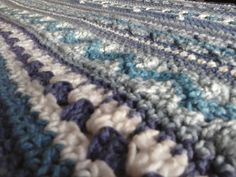Ravelry: tempyjo's Blue Hotel Blanket