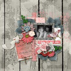 solitude Dear Friend, Solitude, Scrapbook Pages, Digital Scrapbooking, Photo Galleries, Floral Wreath, Gallery, Fun, Flower Crowns