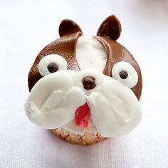 Boston Terrier cupcakes!!!! #bostonterrier