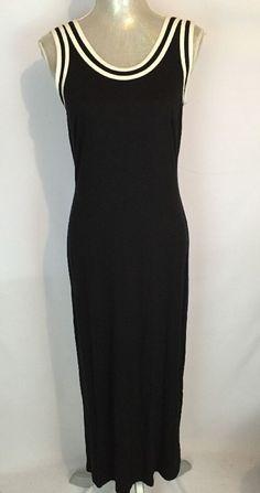 Spiegel Dress Black and White Size M Maxi Boho  #Spiegel #Maxi #Casual