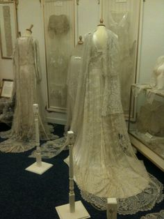 Carrickmacross Lace gowns