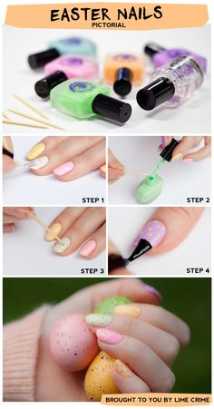 Happy Easter nail Pictorial