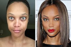 CHOCANTE: 10 fotos de celebridades sorprendidas sin maquillaje - TKM Chile