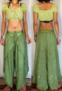 * FREE WORLDWIDE SHIPPING * No Minimum Order - GYPSY BOHO HAREM BELLY DANC PANTS TROUSERS H21