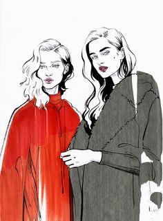 MaxMara #fashionsketchbook,