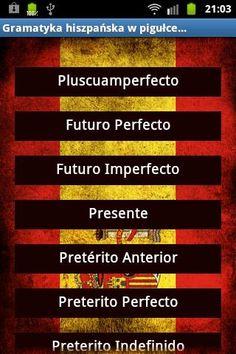 Czasy hiszpańskie | Hiszpański