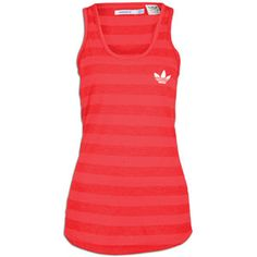adidas Originals Dee Tank - Women's - Poppy/White