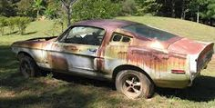 Amazing Rusty Finds - #searchlocated - 67 Shelby