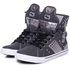 Pastry Sneakers Pinwheel Grey (695 ARS) ❤ liked on Polyvore featuring shoes, sneakers, sapatos, grey, basket, pastry shoes, gray high tops, grey high top sneakers, high top sneakers and grey shoes