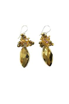 Handcrafted earrings with Czech crystals and Japanese beads   Crystal Drop Earrings  by Ananda. Accessories - Jewelry - Earrings Chicago, Illinois