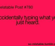 i hate that! ha