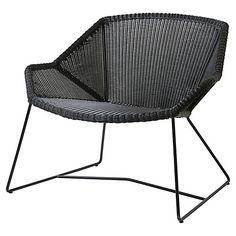 Breeze Club Chair, Black