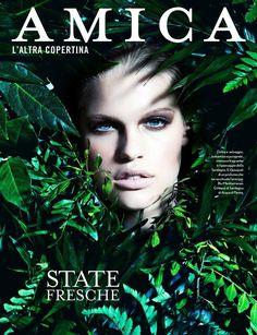 Kim Riekenberg, Amica Magazine [Italy] (August 2014)