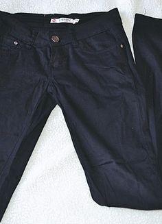 Kup mój przedmiot na #vintedpl http://www.vinted.pl/damska-odziez/rurki/11036609-czarne-spodnie-rurki-casual-xs