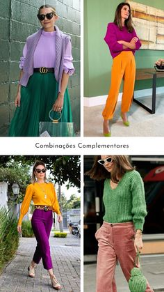 Colour Combinations Fashion, Colour Blocking Fashion, Color Combinations For Clothes, Color Blocking Outfits, Trendy Summer Outfits, Chic Outfits, Fashion Outfits, Fashion Tips, Colourful Outfits