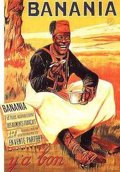 Banania #pub #racisme #banania