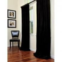 black velvet curtains with white walls and a rich stained wood floor is classy at it's best. This would be gorgeous in an art gallery. Black Curtains Bedroom, White Curtains, Drapes And Blinds, Drapes Curtains, Burlap Curtains, Curtains Living, Drapery, Velvet Drapes, Houses