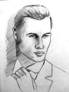 Bleistift Zeichnung, Pencil Drawing