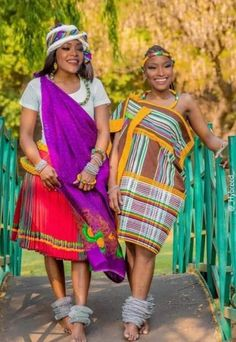 Venda Traditional Attire, African Attire, People Around The World, Peace And Love, African Fashion, Sari, The Incredibles, Twitter, Africans