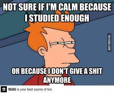 Bahahahaha so me!!! Especially last week lol