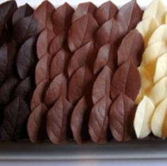 DIY Chocolate Leaf