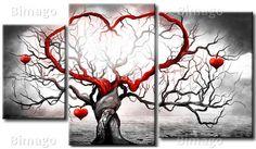 Quadro Árvore do amor - clique aqui para ampliar