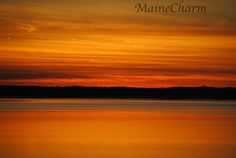 Sunsets in Eastern Maine are beautiful. All 5 photographs were taken in one evening, a few minutes apart. It is amazing how one sunset can change so