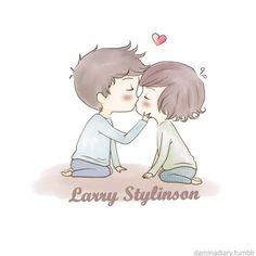 ❤ Larry Cartoon