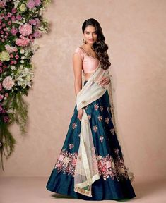 Manufacturer of Summer Special Designer Kurti, Lehenga Choli & New Bollywood Saree offered by Maruti Fashion from Surat, Gujarat, India Lehenga Designs, Indian Wedding Outfits, Indian Outfits, Indian Attire, Indian Wear, Indian Style, Ethnic Fashion, Asian Fashion, Moda India