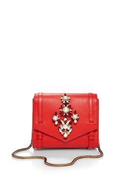 Daktari Crystal-Embellished Shoulder Bag by Shourouk