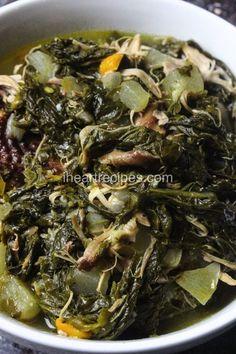 Soul Food Turnip Greens with Smoked Turkey Seitan, Tzatziki, Vegetable Dishes, Vegetable Recipes, Ratatouille, How To Cook Turnips, I Heart Recipes, Pasta Sauce, Salt Pork