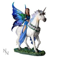 Anne Stokes Realm Of Enchantment Figurine produced by Nemesis Now 27 cm hand painted with the attention to detail that Nemesis Now is known for!