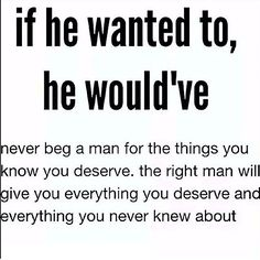 If he wanted to, he would have. Actions speak louder than words and empty promises. Stop wasting time with someone who isn't ready to move forward or isn't on the same page as YOU! Focus On Me Quotes, Push Me Away Quotes, Quotes To Live By, Relationship Quotes Instagram, Boyfriend Quotes Relationships, Instagram Quotes, Relationship Rules, Empty Promises Quotes, Actions Speak Louder Than Words Quotes