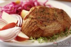 Receita de Lagarto na panela de pressão em receitas de carnes, veja essa e outras receitas aqui!