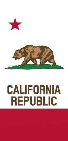 I made 227 flag wallpapers for mobile phones. vexillolo - Art World California Bear Tattoos, California Flag, California Outline, California Republic Flag, Wallpapers For Mobile Phones, Mobile Wallpaper, Iphone Wallpaper, Wallpaper California, Halloween Disfraces