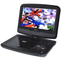 Verezano Swivel Screen Portable DVD Player from Verezano Black Friday Cyber Monday Composite Video, Dvd Vcr, Audio, Usb Type A, Old Models, Lcd Monitor, Cool Things To Buy, Dvd Players, Watch Movies