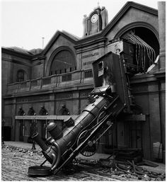 Accidentes increibles de trenes antiguos.