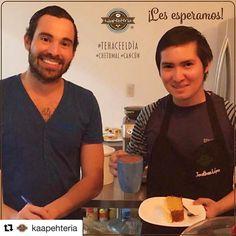 @kaapehteria  Les esperamos!  #Káapehtería #TeHaceElDía #Cafetería #Café #Alimentos #Postres #Pasteles #Panes #Cancún #Chetumal #México