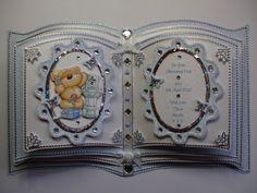 Handmade Christening Bookatrix For Baby Boy