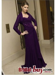 cheap mother of the bride dress #mother dress   Purple Mother of the Bride Dresses With Embroidery